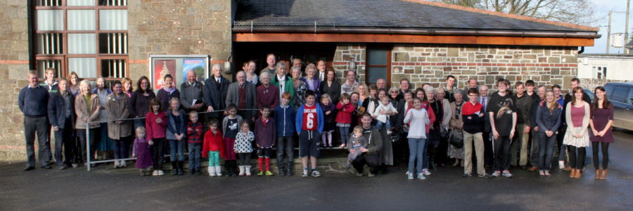 Picture of Hele Lane Congregation in November 2014